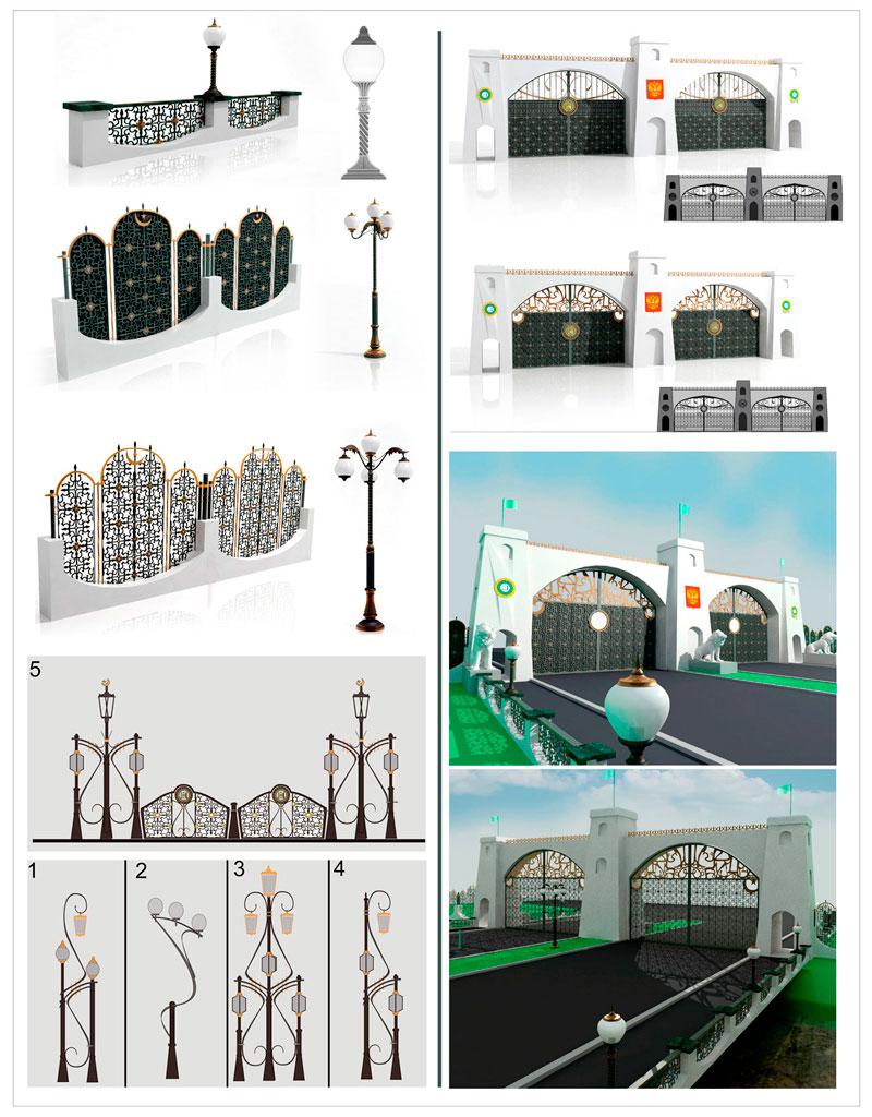 3D визуализация архитектурного объекта