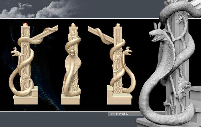 3D визуализация сувенирной продукции