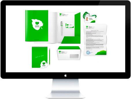 Разработка фирменного стиля - услуги в Латвии, Литве, Эстонии